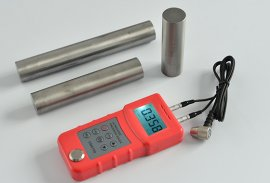 Ultrasonic Thickness Gauge Testing block Video